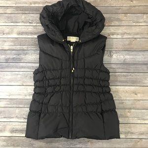 Michael Kors Chocolate Down Puffer Vest, Women's M